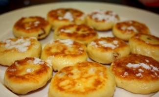 Сырники без яиц - фото шаг 6
