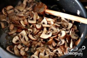 Запеченные яйца со шпинатом, грибами и беконом - фото шаг 2