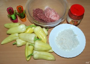 Фаршированный перец со свининой - фото шаг 1