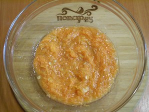 Пирог из тыквы в духовке - фото шаг 3