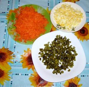 "Салат с печенью ""Ермак"" - фото шаг 2"