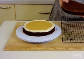 Торт шоколадно-карамельный - фото шаг 5