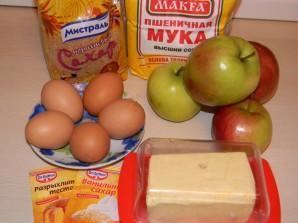 Послойный яблочный пай - фото шаг 1