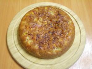 Пирог с тыквой и яблоками - фото шаг 9