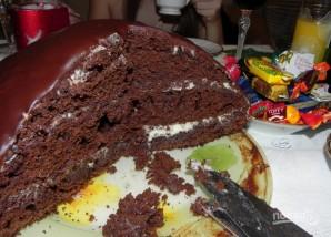 Кефирный торт - фото шаг 4