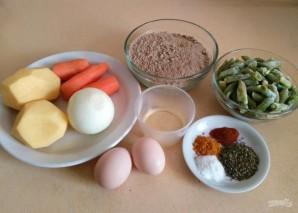 Овощной суп с льняными клёцками - фото шаг 1