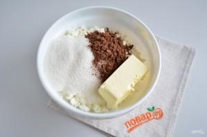 Торт без выпечки из печенья и творога - фото шаг 2