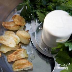 Бутерброды с креветками и сыром - фото шаг 2