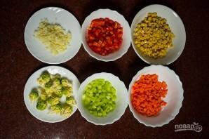 Рис с овощами по-китайски - фото шаг 1