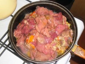 Паштет из куриной печени с овощами - фото шаг 9