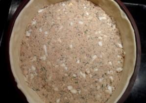 Пирог с горбушей консервированной - фото шаг 9
