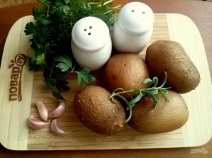 """Чесночный картофель """"Обалденный"""" - фото шаг 1"""