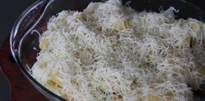 Каннеллони с творогом и сыром - фото шаг 6