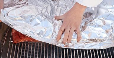 Свиные ребрышки в соусе барбекю - фото шаг 3