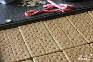 Шоколадные пирожные с миндалем - фото шаг 1