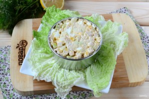 Салат из кукурузы и куриной грудки - фото шаг 4