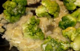 Рисовая лапша с лососем и брокколи - фото шаг 2