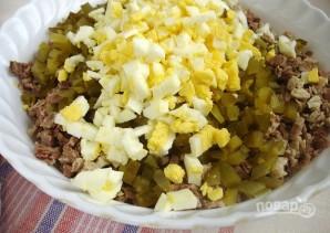 Салат с вареным мясом - фото шаг 5
