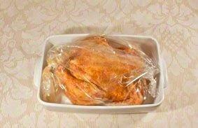Курица в рукаве - фото шаг 5