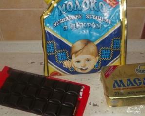 Шоколадный крем с вишней - фото шаг 1