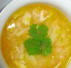 Суп с макаронами и курицей - фото шаг 4