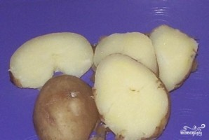 Яичница с огурцами - фото шаг 1