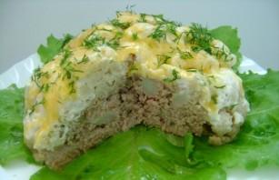 Мясо с цветной капустой в мультиварке - фото шаг 6