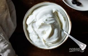 Крем для торта из йогурта - фото шаг 3