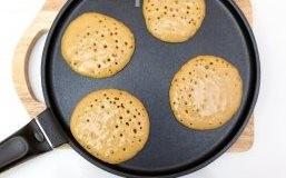 Чоко-панкейки на завтрак - фото шаг 5