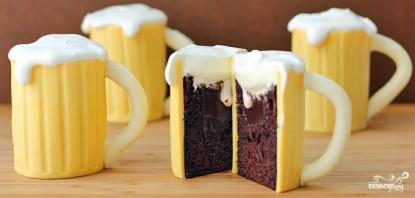 "Торт ""Пивная кружка""  - фото шаг 5"