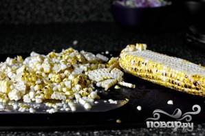 Такос с кукурузой, редисом и цуккини - фото шаг 3