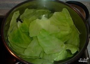 Мясной рулет с капустой - фото шаг 1