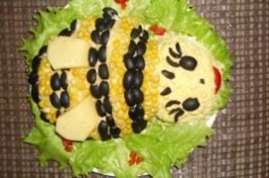 """Салат """"Пчелка"""" - фото шаг 10"""