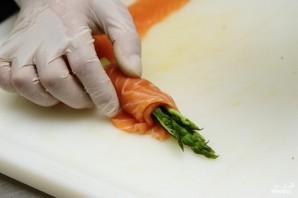 Спаржа с лососем - фото шаг 16