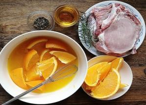 Свинина с апельсинами - фото шаг 1