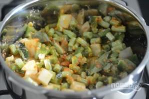 Стручковая фасоль с картофелем - фото шаг 7