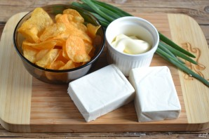 Закуска на чипсах - фото шаг 1