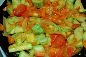 Рагу из кабачков и помидоров - фото шаг 4
