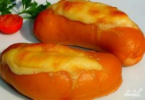 Сардельки с сыром в духовке - фото шаг 3