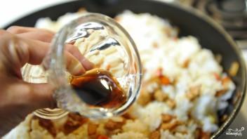 Рис с мясом и овощами - фото шаг 6