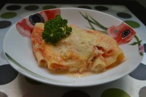 Трубочки с сыром и зеленью - фото шаг 5