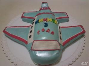 Торт в виде самолета - фото шаг 11