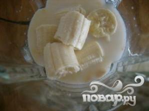 Коктейль с арахисовым маслом, шоколадом и бананом - фото шаг 3