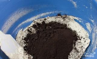 Шоколадный торт с печеньем - фото шаг 10