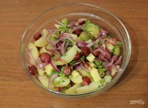 Картофельный салат по-немецки - фото шаг 8