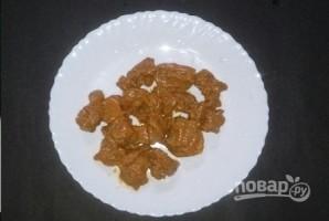 Куриные шашлычки с овощами - фото шаг 3