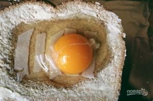 Яичница с хлебом (в духовке) - фото шаг 4