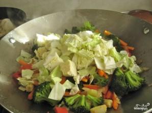 Лапша с овощами по-китайски - фото шаг 7