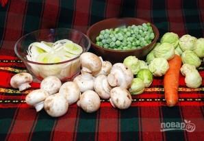 Овощной суп без картошки - фото шаг 1