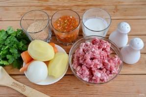 Альбондигас (фрикадельки с овощами) - фото шаг 1